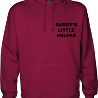 daddy's little helper hoodie