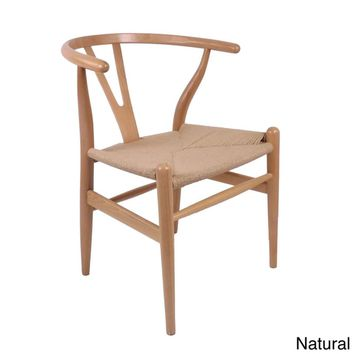 Hans Andersen Home Wishbone Style Chair | Overstock.com Shopping - The Best Deals on Dining Chairs