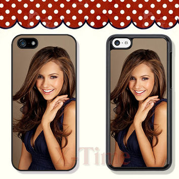Nina Dobrev, iPhone 5 case iPhone 5c case iPhone 5s case iPhone 4 case iPhone 4s case, Samsung Galaxy S3 \S4 Case --X51124