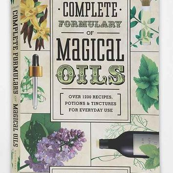Llewellyn's Complete Formulary Of Magical Oils By Celeste Rayne Heldstab  - Assorted One