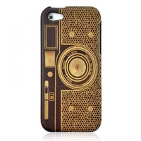 Hand Craved and Gilding Rosewood Case for iPhone 5