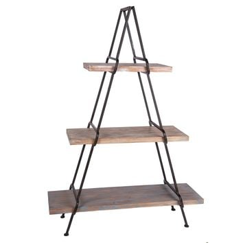 A Frame Shelving Unit