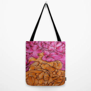 Woven Together Tote Bag by DuckyB (Brandi)