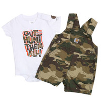 Carhartt Infant's Onesuit and Overalls Set
