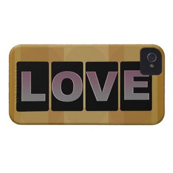 Love iPhone 4 Barely There Case