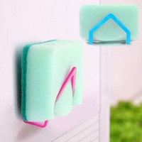 Useful Kitchen Tools Gadget Decor Convenient Sponge Holder Cleaning Bowls LSUS