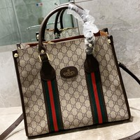 GUCCI New fashion more letter leather shoulder bag women handbag