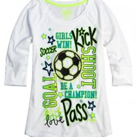 Sports Icon Tee    Girls {category} {parent_category}   Shop Justice