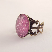 Moon Dust Mood Ring - Pink Shades