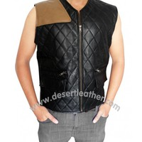 The Walking Dead Governor Vest | David Morrissey Vest | DesertLeather