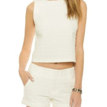 Eryn Boxy Crop Top