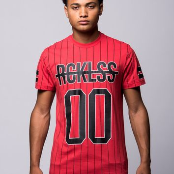 Gameface Long Tee - Red