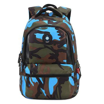 Fashion Camouflage Kid Backpack Bag School Bags Travel Backpack Bags For Cool Boy And Girl Drop Shipping
