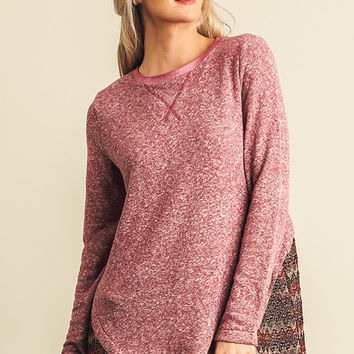 Fall Bliss Top - Berry