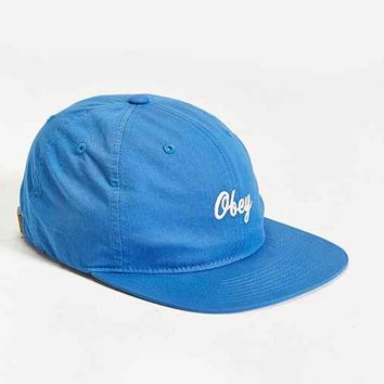 OBEY Ryan Strapback Hat- Blue One