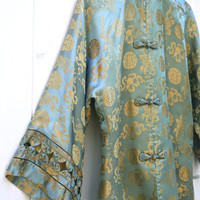 Vintage Asian Jacket Dynasty British Crown by ObjectsbyEchoes