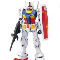 "Bandai Hobby RX-78-2 Gundam ""Mobile Suit Gundam"" Perfect Grade Action Figure, Scale 1:60"