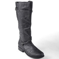 Journee Collection Harley Tall Wide Calf Boots - Women