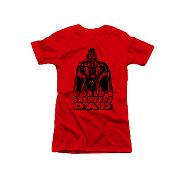 Star Wars World's Greatest Darth Vader T shirt UNISEX ADULT