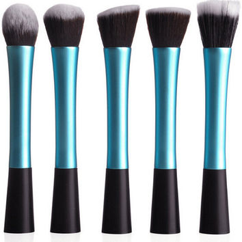 Blue Metallic 5-piece Select Brush Kit