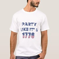 Party Like It's 1776 Men's T-shirt - 4th of July