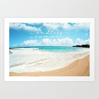 endless summer Art Print by sylviacookphotography