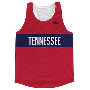 Tennessee Finish Line Running Tank Top Racerback Track and Cross Country Singlet Jersey