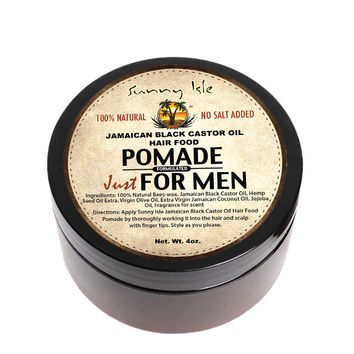 Sunny Isle Jamaican Black Castor Oil Hair Food Pomade Formulated Just for Men 4Oz