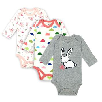 3PCS/LOT Baby Boys&Girls Clothes Newborn Wedding Clothes Baby Rompers Long Sleeve Overalls Costume Newborn Baby Body Jumpsuit