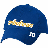 Riverdale Andrews Baseball Cap - Unstructured, Glitter, Low-Profile
