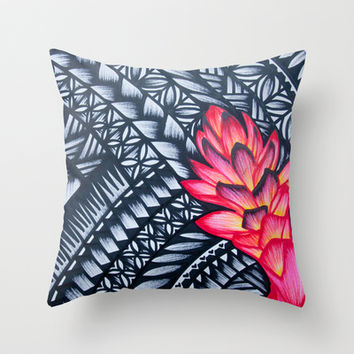 Teuila 2 Throw Pillow by Lonica Photography & Poly Designs