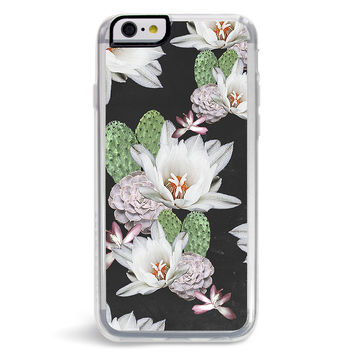 After Dark Floral Cactus iPhone 6/6S Case