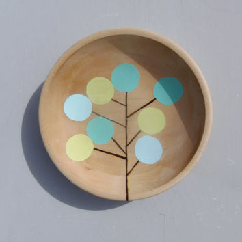 "Tree Doodle Small 8"" Cheese Tray"