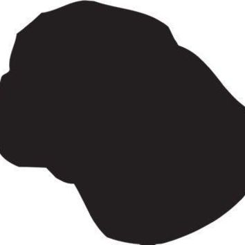 Braque Saint-Germain Silhouette Dog Puppy Breed Long Die Cut Vinyl Transfer Decal Sticker