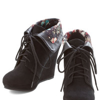 ModCloth Telluride a Story Bootie in Black