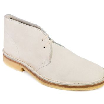 Church's Off-White Suede Donna Ankle Desert Boots