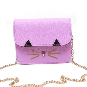 Cat Whiskers Cross Body Shoulder Bag