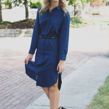 The Minimalist Shirtdress