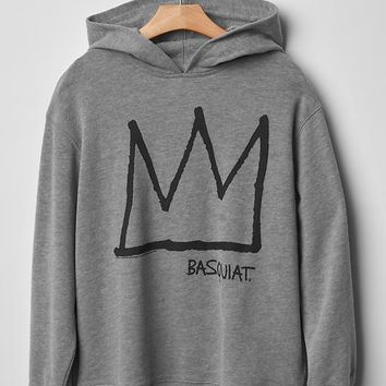 Gap Boys Junk Food Basquiat Graphic Hoodie