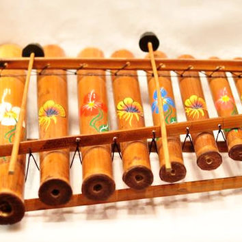 Coconut Carved Xylophone