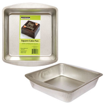 "Bulk Cooking Concepts Square Cake Pans, 7½"" at DollarTree.com"