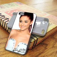 AH0Ariana Grande Nice Smile Ariana Grande Ariana Grande signature singer star | For iPhone 5/5S Cases | Free Shipping | AH0780