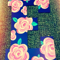 """Hand painted letter 13"""""""