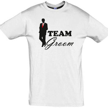 Team groom shirt,bachelor gift,groomsman shirt,funny groom shirt,bachelor party shirt,gift ideas,gift for groom,fun men shirt,best man shirt