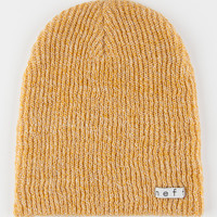 Neff Daily Heather Beanie Mustard One Size For Men 27140162001