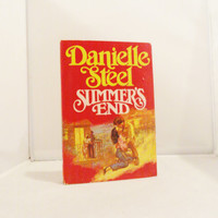Vintage Book Danielle Steel Summer's End Romance Novel Exclusive Member's Only Edition Mint Condition RARE FIND Fiction