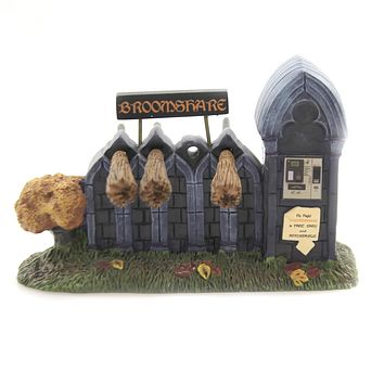 Department 56 Accessory BROOMSHARE Polyresin Halloween 6003228