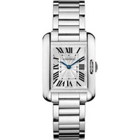 Cartier Tank Anglaise Small White Gold Women's Watch W5310023