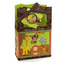 Baby Shower Favor Boxes - Funfari - Fun Safari Jungle