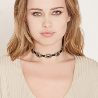 Braided Faux Suede Choker